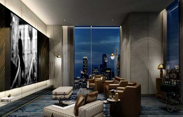 Ashton-Silom-Bangkok-condo-for-sale-Private-Theatre-lounge
